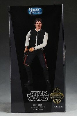 Star Wars Sideshow 1:6 Scale Han Solo Smuggler: Tatooine Exclusive