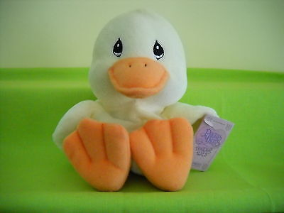 "Precious Moments-Tender Tails 6"" Duck W/tag-382515"