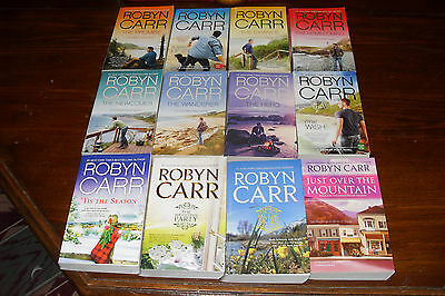 Nice Bundle of THUNDER POINT  series  plus by  ROBYN CARR    free s/h CAN