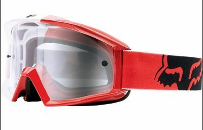 Fox Main Goggle 180 race red/clear fo12605902