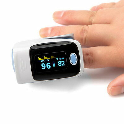 Digital OLED Fingertip Pulse Oximeter RZ001 SPO2 Pulse Rate Oxygen Monitor UK