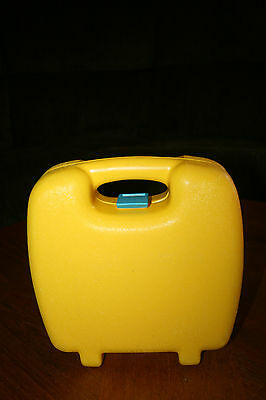 Little Tikes Yellow Carry Case Just The Case Storage Box Child Size Handle