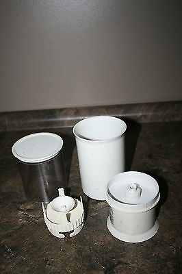 Braun Multipractic Food Processor #4259 Containers and Parts for The Machine