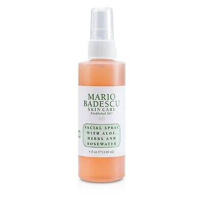 Mario Badescu Facial Spray with Aloe, Herbs & Rosewater - For All Skin 118ml
