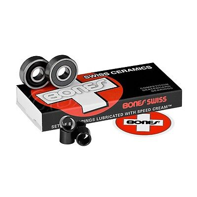 Bones - Swiss Ceramics Skateboard Bearings
