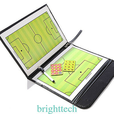 Pro Soccer Coaches Board Precision Magnetic Football Tactic Training Board New