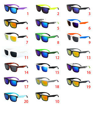 New SPY1 21 COLOR HELM Colorful Reflective Sunglasses Multicolor Sunglas UV400