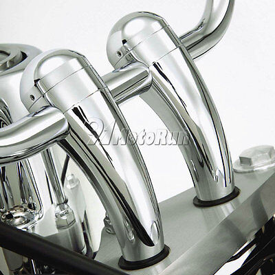 "Motorcycle 1"" Handlebar Risers For Harley Davidson Dyna Softail Sportster Custom"