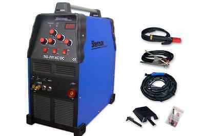 Sherman TIG 201 AC/DC 200Amp Welder Aluminium Inverter MMA for Garages used once