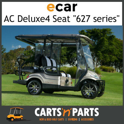 Ecar AC POWER DELUXE 4 Seat NEW GOLF CART Buggy 627 Series Full Deluxe Package C