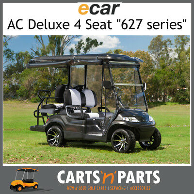 Ecar AC POWER DELUXE 4 Seat NEW GOLF CART Buggy 627 Series Full Deluxe Package B