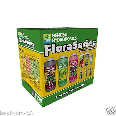 General Hydroponics FloraSeries Performance Starter Pack SAVE $$ W/ BAY HYDRO $$