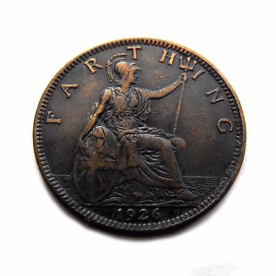 King George V 1926 FARTHING in a better grade
