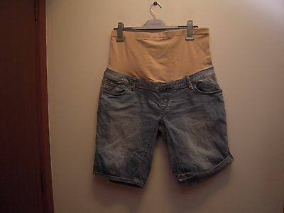 Women's / ladies maternity shorts denim size 14 - Jeanswest