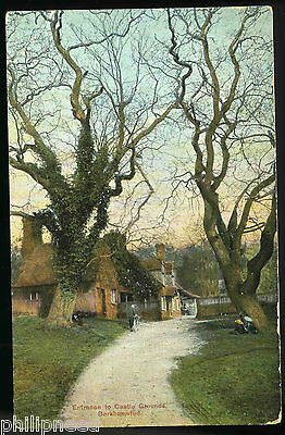 Castle Grounds Entrance Berkhamsted Hertfordshire [A929