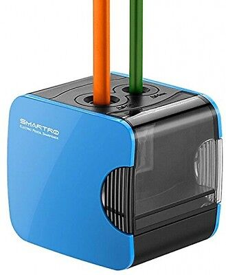 SMARTRO Electric Pencil Sharpener, Best USB Or Battery Operated Heavy Duty For