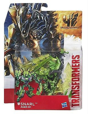 Hasbro Transformers Movies 4 Age of Extinction AOE Deluxe Dinobot Snarl AU