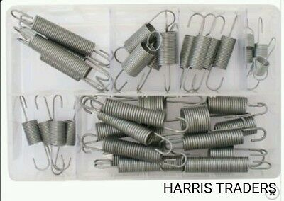 Assorted Box Of Clutch / Accelerator  Springs Most Popular Sizes  Qty 36 Springs