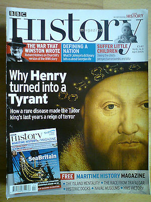 BBC History April 2005 volume 6 number 4