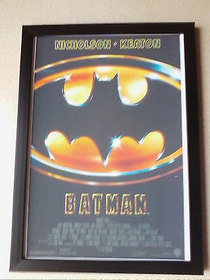 Batman (1989) movie poster framed print