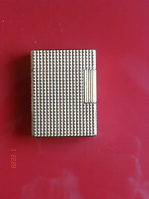 Briquet Dupont Plaque Or 20 Microns