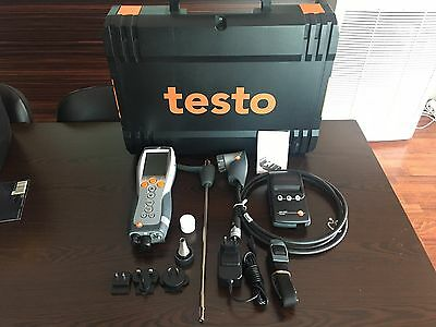 Testo 330-2 LL  Combustion analyser Gas with  0554-0547 Printer