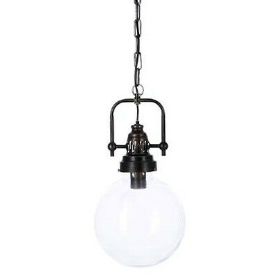 "Paris Prix - Lampe Suspension Métal ""Owen"" 148cm Noir"