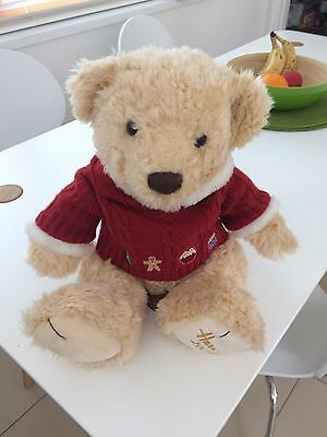 Harrods Foot Dated Christmas Bear 2009