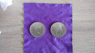 2 x Collectable Commemorative Coins - Millenium and Queen Mother Birthday