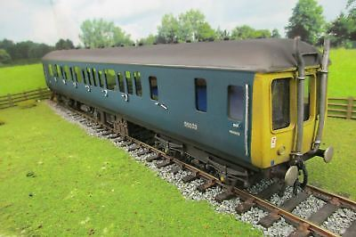 7mm Finescale O Gauge Kit Built BR Blue Class 121 Diesel Locomotive '55023'