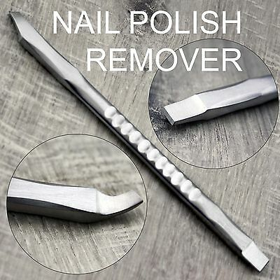 Surgical Stainless Steel Nail Polish Remover / Scrapper | NAIL CARE & MANICURE