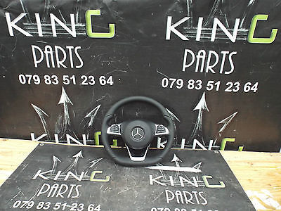 Mercedes W205 C218 W212 C E Cla Cls Class Genuine Amg Steering Wheel With Airbag