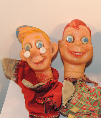 Howdy Doody and Friend Hand Puppets set of 2 (12407)