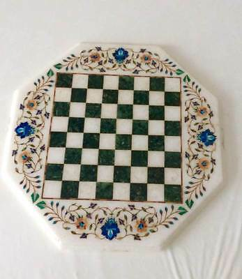 Hand crafted marble chess set from India