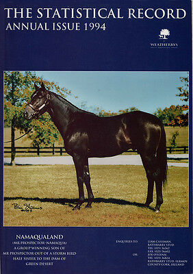 Statistical Record Annual 1994 - horse racing publication