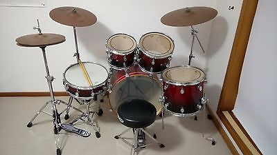 PDP M5 Series All Maple Full Size Drum Set with Stool