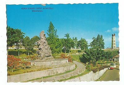 "Vintage  Monument Of The Unknown Soldiers "" Indonesia "" Post Card"
