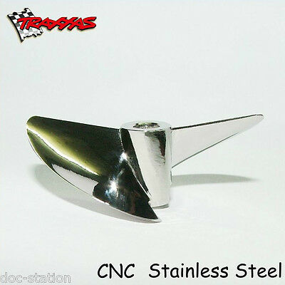 Y545 Cnc Pro Traxxas Spartan Octura Stainless Steel Propeller Rc Boat Prop