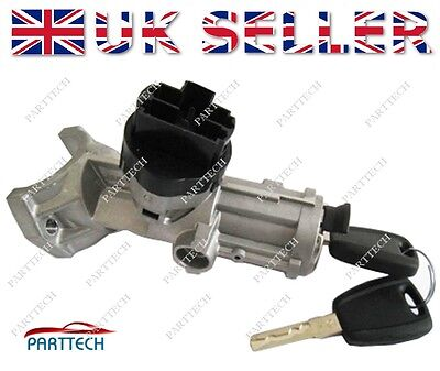 FIAT DUCATO 2002 2006 IGNITION CYLINDER STARTER with 2 KEYS 4162AL 4162CP