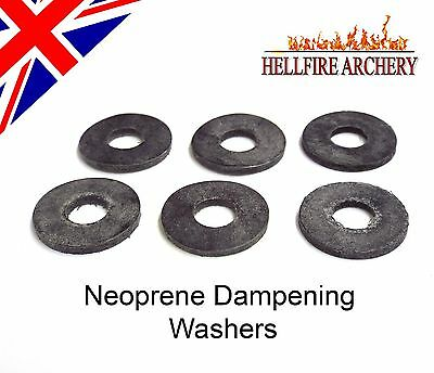 Archery Stabiliser Replacement Washers - Spares Recurve Compound Neoprene Rubber
