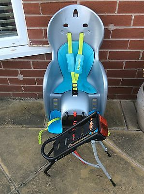 Decathlon Bicycle Childs Bike Seat & Rack