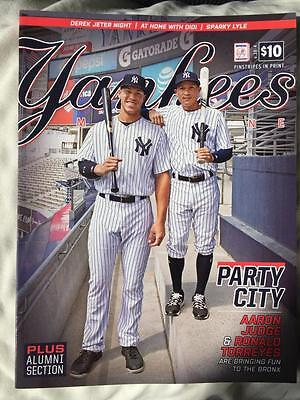 New York Yankees Magazine June 2017 Official Program Issue Ny Yankee Stadium