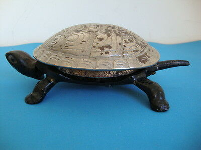 Hotel Bell Turtle Cast Iron Antique Germany FREE SHIPPING WORLDWIDE }