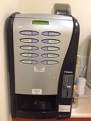 Saeco Coffee Vending Machine With Coin Mech