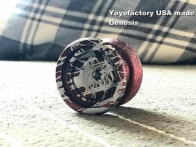Yoyofactory Genesis RARE EDITION yoyo collection ( not clyw )