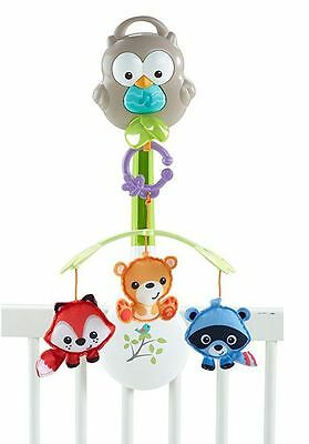 Fisher-Price Woodland Friends Mobile Musical Plays 20 minutes 3- in-1