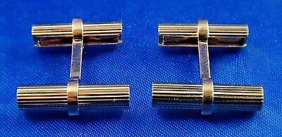 Authentic Van Cleef & Arpels NY 14k Solid Gold Cufflinks 12V1-77