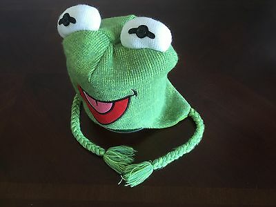 Kermit the Frog Muppet Toque Hat Adult One Size Fits All