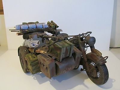 Dragon/21st CENTURY/1/6th scale WW11 GERMAN MOTORBIKE & SIDECAR