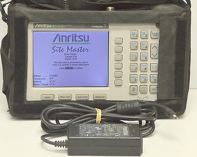 Anritsu S331D SiteMaster Cable & Antenna Site Master w/ Options 3 & 29